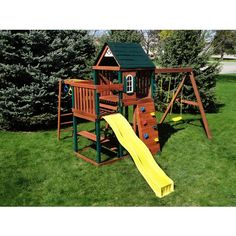 andorra swing set 600 overall dimensions 123l x 108w x 95h in