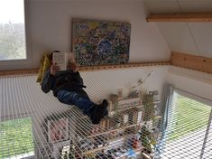 Filet d'intérieur d'habitation sur mesure avec Feelnets en France Filets, Home Appliances, Shelves, Weave, Pergola, Home Decor, France, Google, Quartos