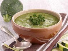 Soupe à la courgette et au curry - Recette de cuisine Marmiton : une recette