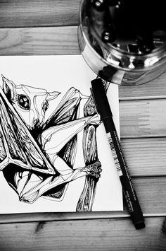 Pipistrello by AIRAMINK on Etsy