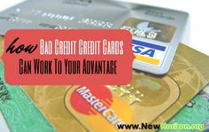 How Bad Credit Credit Cards Can Work To Your Advantage by http://www.newhorizon.org