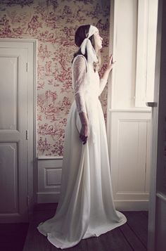 ... about Robe de mariee on Pinterest  Robes, Rue de seine and Paris