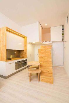 Loft ZURITA. Madrid: Cocinas de estilo minimalista de Beriot, Bernardini arquitectos - homify / Beriot, Bernardini arquitectos