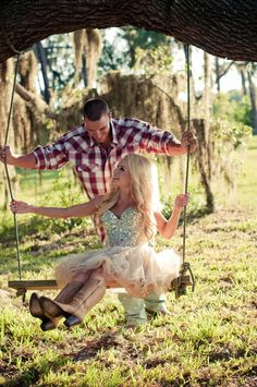 engagement country southern style cowboy boots wranglers sherri hill dress