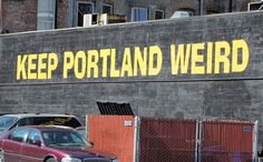 Not a problem for the near future. Keeping Portland immensely self aware, smug and ironic, also not a problem.