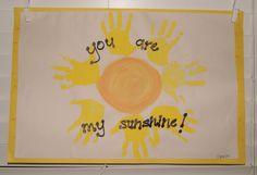 Handprint sunshine