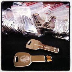 USB-Llave 01 Key Marcado: Grabado Láser