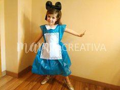 Cómo hacer un disfraz de 'Alicia en el país de las maravillas' ¡sin coser!