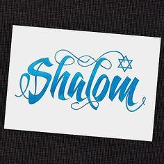 Shalom Holiday Card ~ available through www.JaniceBlackmonEvents.carlsoncraft.com