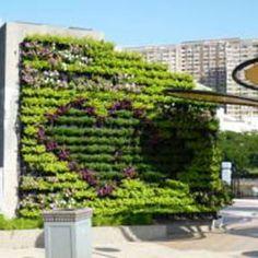 Jardines verticales huertos urbanos on pinterest mesas - Huerto urbano balcon ...
