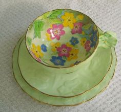 Paragon TRIO Green flower handle