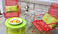 Brilliant Malerei Patio Möbel Ideen #Garten
