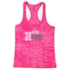 Walking 2 days and 39 miles is a challenge. Show that you're 39 miles strong in this feminine fit, racerback style, pink burnout fabric tank. Grey AVON 39 detail on the back. Net proceeds go to the Avon Breast Cancer Crusade. Regularly $30.00, buy Avon Fashion products online at http://eseagren.avonrepresentative.com