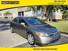 2008 Honda Civic, Civic Lx, Bmw, Doors, Gray, Grey, Gate