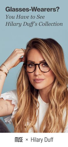 Hilary Duff just launched her new glasses collection. Find your perfect pair exclusively online, plus, get free shipping and returns.