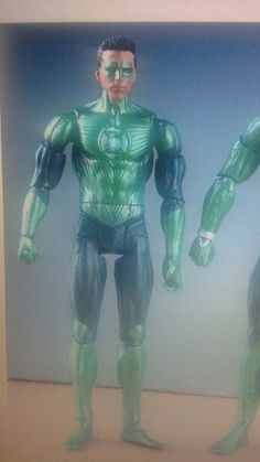 This is Green Lantern/Hal Jordan. The action figure is $19.00 because it has another green lantern with it
