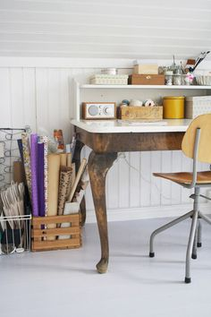 Eclectic Home Office by Jeanette Lunde
