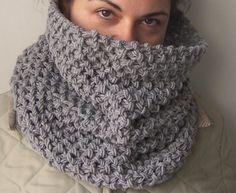hand-knit cowl #readyforfall