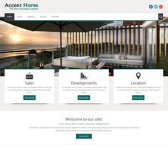 20 best Free Real Estate HTML Templates images on Pinterest | Html ...