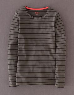 Essential Crew Neck Tee WL761 Long Sleeved Tops at Boden