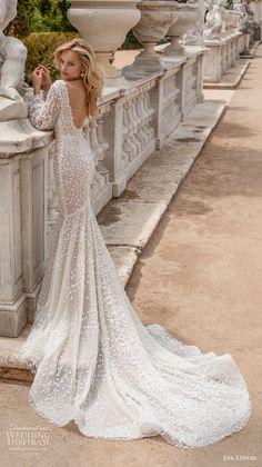 Mermaid Wedding Dress With Sleeves, Wedding Dress Train, Wedding Bridesmaid Dresses, Dresses With Sleeves, Bridal Gowns, Wedding Gowns, Bridal Hijab, Dresses Elegant, Princess Wedding