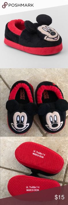 1c8273e4b Shop Kids' Red Black size Slippers at a discounted price at Poshmark.