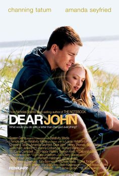 Set before Channing Tatum is John, a G. Joe at liberty in Carolina doing a good deed for Savannah (Amanda Seyfried). (Nicholas) Sparks fly before reality gets in the way. Dear John Movie, Dear John 2010, Channing Tatum, See Movie, Movie List, Movie Tv, Cher John, Nicholas Sparks Movies, Image Film