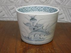 Antique Japanese Imari Cup. Very old Thistle by CircaMundiVintage