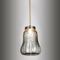 Premium Supplies glass jar pendant | Andy Thornton