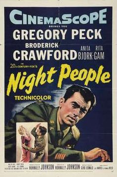 Night People 1954 Gregory Peck
