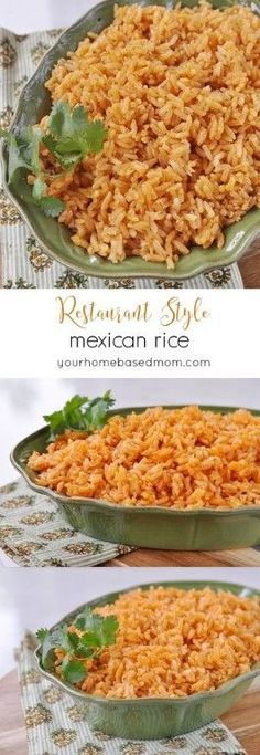 This Mexican Rice tasted just like the rice they serve at your favorite Mexican restaurant. | Best Foodie Recipes