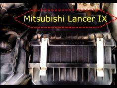 Замена фильтра на Mitsubishi Lancer IX : Changing the filter on the Mits...