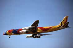 Special Livery - Braniff International Airways, McDonnell Douglas DC-8-62 | Flickr - Photo Sharing!