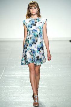 What to wear to a garden wedding // Rebecca Taylor Spring 2014 Ready-to-Wear Collection
