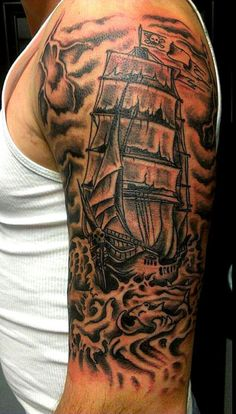 Pirates Of The Carribean Tattoo (for Chris)