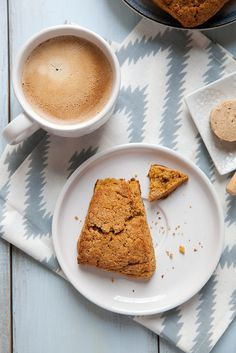 Sweet Potato Scones with Maple Cinnamon Butter  –  Annie's Eats