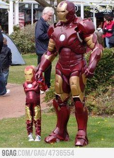 Ironman and Ironman, Jr.