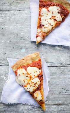 This grain-free paleo pizza crust uses almond meal and arrowroot in place of traditional flour. You'll never miss the wheat! Paleo pizza grain free pizza gluten free pizza - Most popular on Pinterest. Paleo pizza recipes updated DAILY. #carbswitch carbswitch.com Please Repin :) ☺♥☺