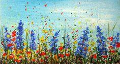 pictura .flori Mini Canvas, Handmade, Painting, Hand Made, Painting Art, Paintings, Painted Canvas, Drawings, Handarbeit