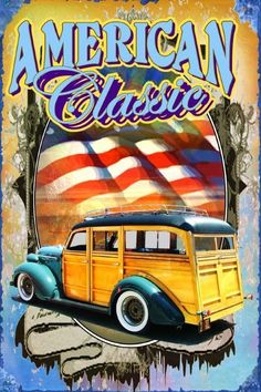 California Logo, Wooden Car, Metal Signs, Classic T Shirts, Surfing, Beach Cruisers, American, Magnets, Decals