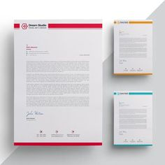 Template Buletin Letterhead Template Body Jewelry Article Body: From the ancient period, the concept Company Letterhead Template, Free Letterhead Templates, Business Templates, Invoice Design, Stationery Design, Branding Design, Identity Branding, Visual Identity, Corporate Design