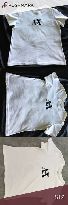 Armani Exchange Tee Armani Exchange Tee. Worn a couple of times. Great Shape! Size large Boxy fit 18 inches across chest 21 inches in length. Great Tee! A/X Armani Exchange Tops