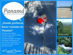 ¿Donde prefieres hacer turismo en Panamá? #EscapetoPanama  #Panama - @HIMGPanama