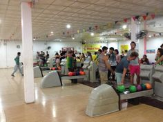 Luang Prabang's not-so-secret after-hours hot spot? A bowling alley.