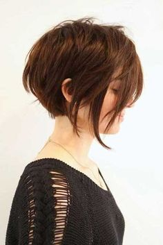 Love Short hairstyles for thick hair? wanna give your hair a new look ? Short hairstyles for thick hair is a good choice for you. Here you will find some super sexy Short hairstyles for thick hair, Find the best one for you, Popular Short Haircuts, Cute Short Haircuts, Trendy Haircuts, Popular Hairstyles, Short Haircut Thick Hair, Long Bangs, Thin Hair, Curly Hair, Bobs For Thick Hair