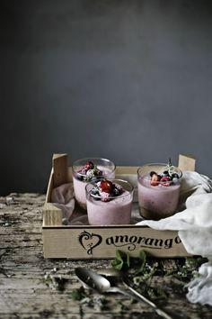 Strawberry and Fresh Cheese Cheesecake | Pratos e Travessas