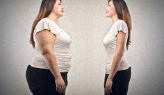 Obese vs Thin Woman
