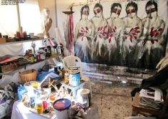 Lebanese artist George Bassil reflects on his work and his new Amman flat studio