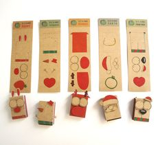 5 Vintage DIY Christmas Matchbox-card Set/ Vintage by Funny Birthday Cards, Diy Birthday, Message Mignon, Christmas Diy, Christmas Cards, Vintage Christmas, Fun Crafts, Paper Crafts, Funny Anniversary Cards