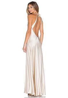 Amanda Uprichard x REVOLVE Ariana Maxi Dress in Bone